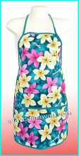 Hawaiian print Apron - 901Teal