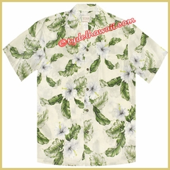 Hawaiian Rayon Shirt - 807White