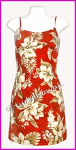 Hawaiian Sun Dress -Red