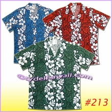 Hibiscus Leis Panel Women Hawaiian Shirt