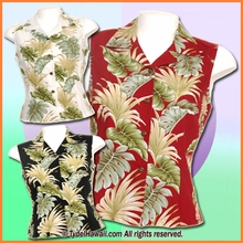 Hwaiian Sleeveless Blouse - 438