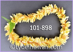 Kahili Ginger Single Lei - Yellow