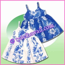 Kid Tie Dress - 4340