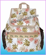 Ky's Palm Tree Nylon Backpack