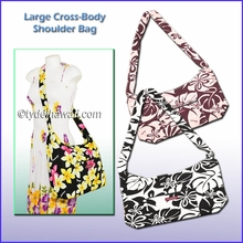 Large Cross Body Shoulder Bag w/Top Zipper