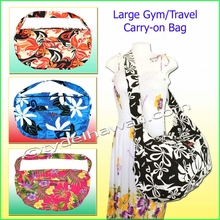 Large Hawaiian Print Travel / Gym workout carry-on Bag