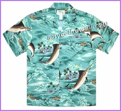 Marlin Fish Hawaiian Shirt