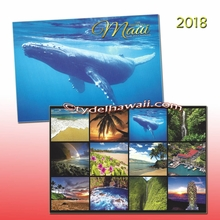 The Valley Island 2018 Maui Calendar