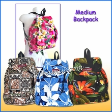 Medium Hawaiian print Backpack