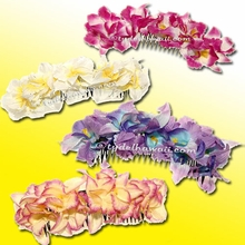 New Orchid Large Hair Comb