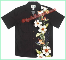 Pua Unique Hawaiian Shirt - 437Black