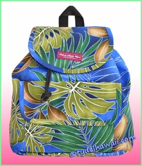 Medium Hawaiian Backpack - 502Navy