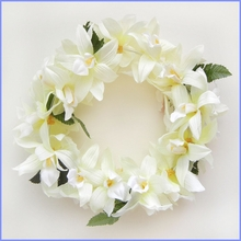 Vanda Orchid Headband - Cream