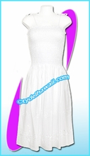 White Aloha beach dress - 5011
