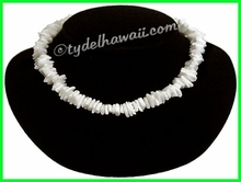 White Chips Puka Shell Necklace