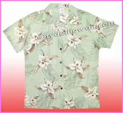 Women Hawaiian Shirt - 809Green