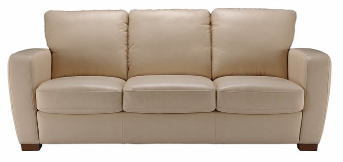 A123 Natuzzi Editions Leather Sofa