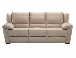 A319 Natuzzi Editions Leather Reclining Sofa