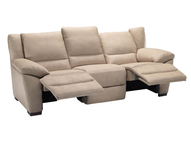 a natuzzi editions leather reclining s