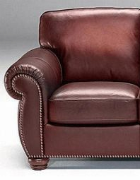 A358 Chair by Natuzzi in Sambucca Leather