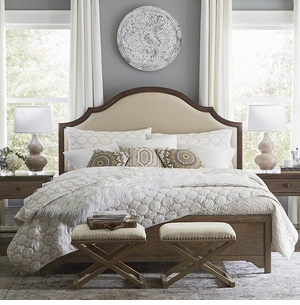 Adelle Upholstered Bed by Bassett
