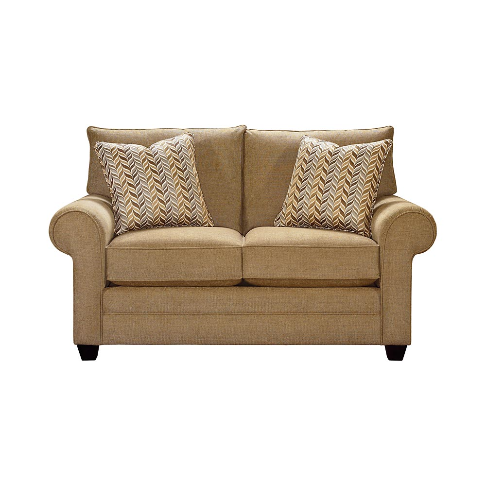 Loveseat By Bassett Furniture - Bassett Sofas, Loveseats  Sleepers