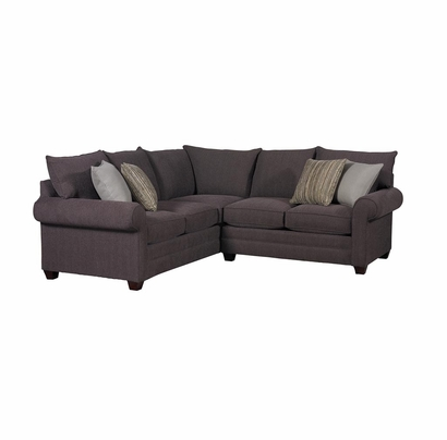 Alex Sectional Sofa by Bassett Furniture