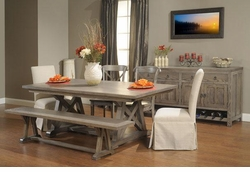 Ann Arden Amish Arvada Dining Room Set