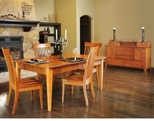 Ann Arden Amish Dutch Creek Dining Set
