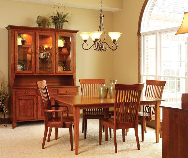 Ann Arden Amish Shaker Dining Set