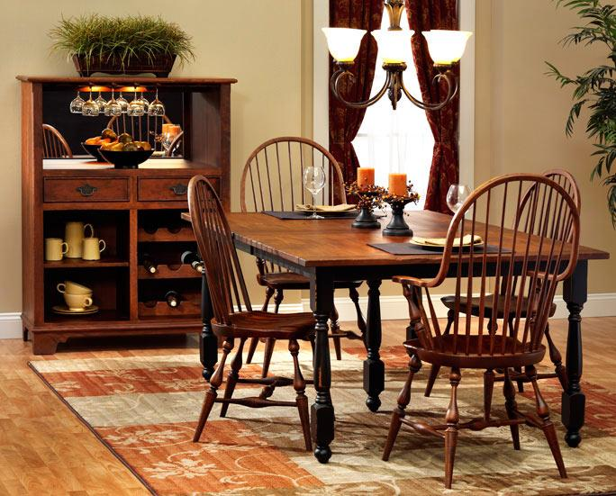 Ann Arden Amish Tavern Dining Set
