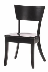 Ann Arden Amish Aspen Solid Wood Dining Chair