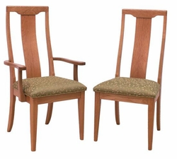 Ann Arden Amish Brentwood Dining Chairs