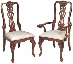 Ann Arden Amish Fancy Regal Dining Chair