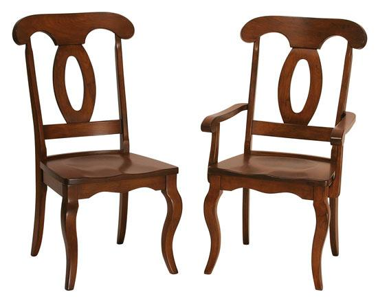 Ann Arden Amish French Dining Chair