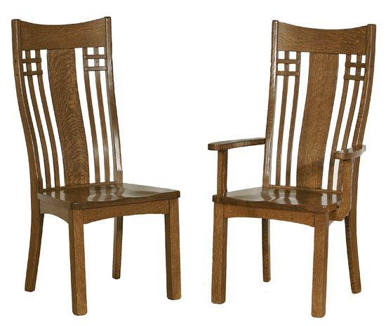 Ann Arden Amish Liberty Mission Dining Chair