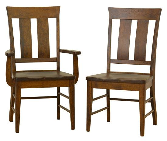 Ann Arden Amish McKinley Dining Chairs
