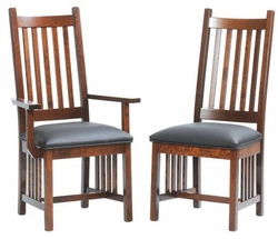 Ann Arden Amish Mission Dining Chair version 3