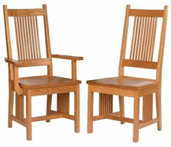 Ann Arden Amish Prairie Mission Dining Chairs