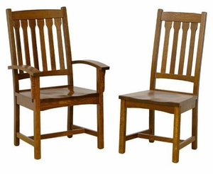 Ann Arden Amish Sante Fe Dining Chairs