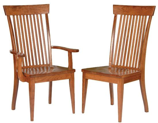 Ann Arden Amish Shaker Dining Chair Version 2