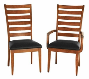 Ann Arden Amish Shaker Ladder Back Chairs
