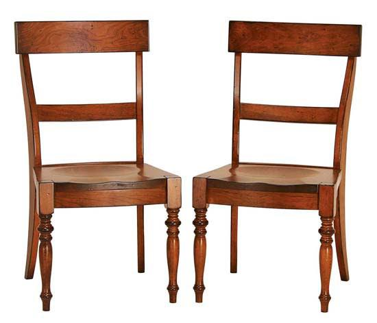 Ann Arden Amish Tuscany Dining Chair
