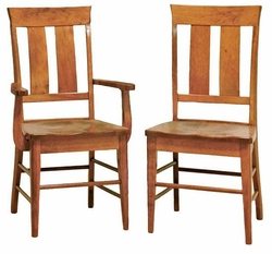 Ann Arden Amish Vienna Dining Chairs