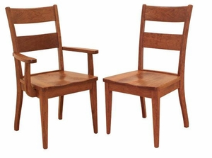 Ann Arden Amish Wellington Dining Chairs