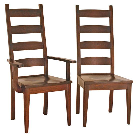 Ann Arden Amish Williamsburg Dining Chair