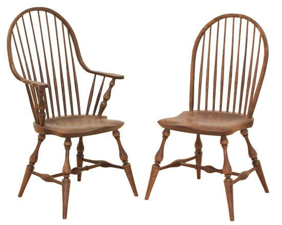 Ann Arden Amish Windsor Chairs Dining Chairs