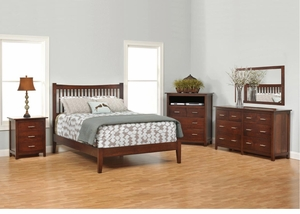 Ashton Amish Slat Bedroom Set