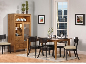 Aspen Amish Solid Wood Dining Set