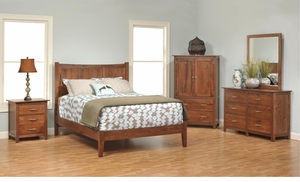 Aston Amish Panel Bedroom Set